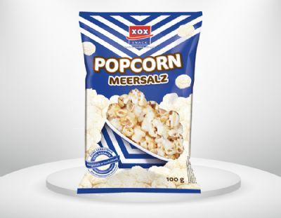 100g XOX Popcorn Meersalz