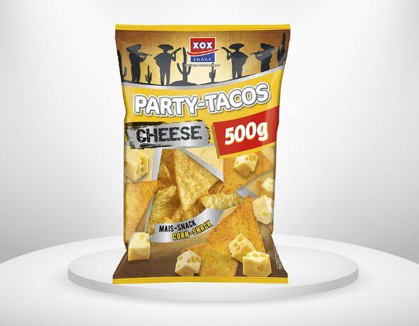 500g XOX Party Tacos Cheese