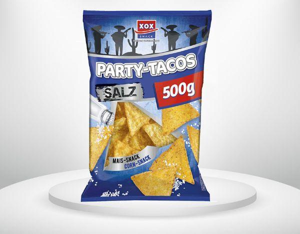 500g XOX Party Tacos Salz